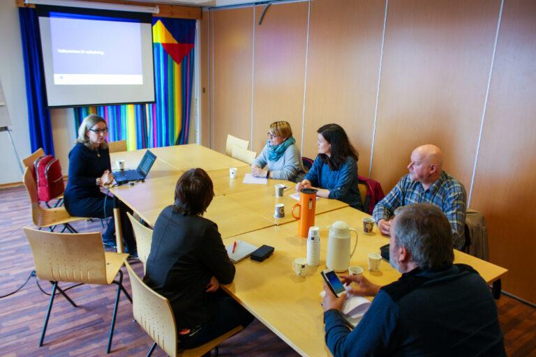 Deltakerne på operativt lederkurs møtes igjen