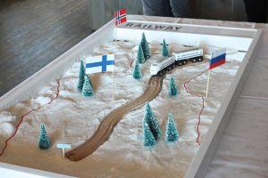 Dette er jernbanerutene til Finnmark som blir vurdert