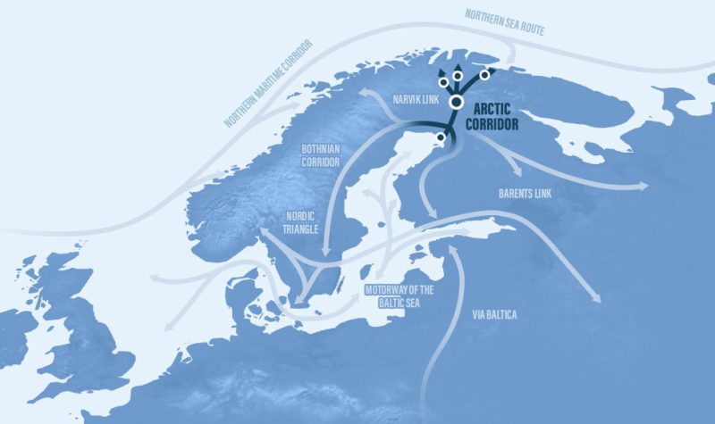 Planning of the Arctic Railway route has started
