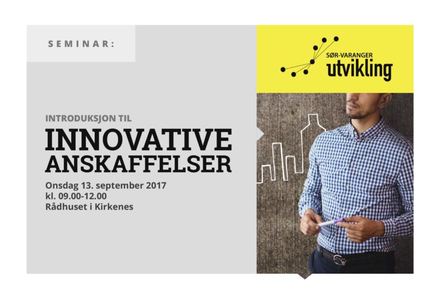 Seminar: Introduksjon til Innovative Anskaffelser