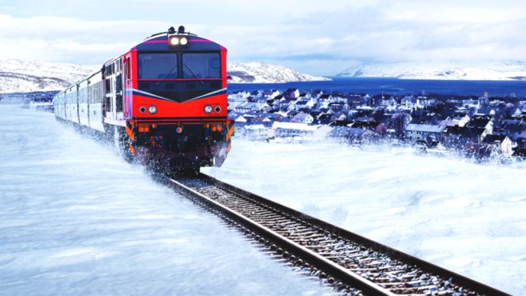 En arktisk jernbanevisjon