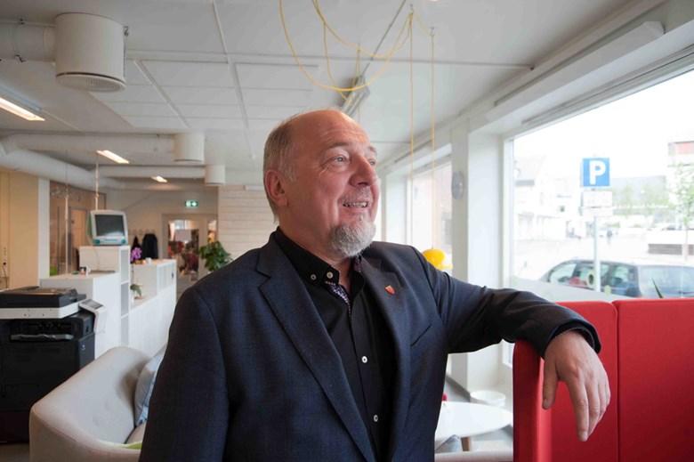 Ordfører Rune Rafaelsen mener Kirkenes er det naturlig valget for den arktiske jernbanen.
