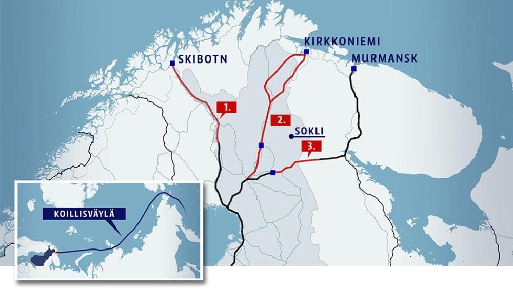 Arktisk jernbane vekker internasjonal oppsikt