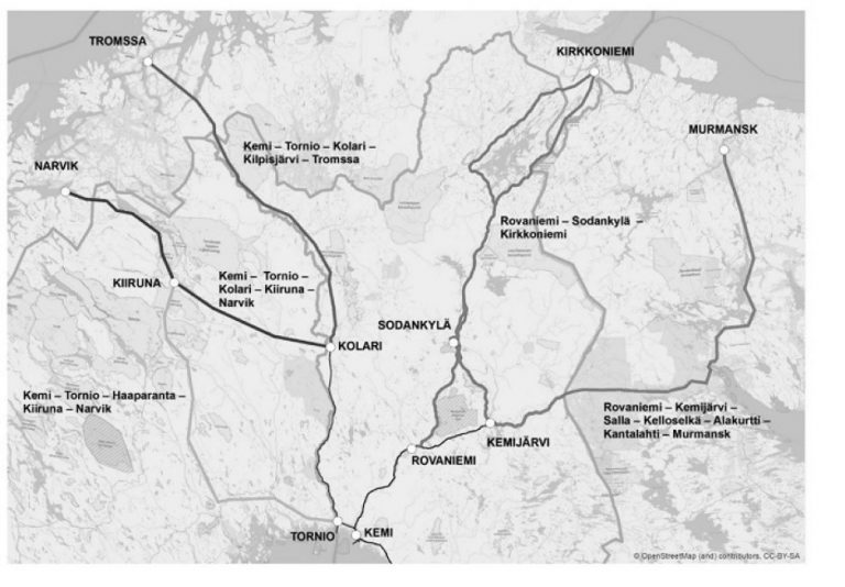Vil utrede Rovaniemi – Kirkenes videre