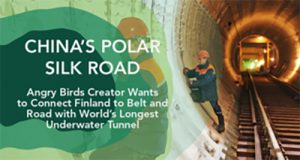 Angry Birds Creator Wants to Connect Finland to Belt and Road with World's Longest Underwater Tunnel