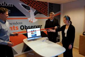Åpnet Norges første medieplattform på kinesisk