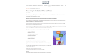KNH arrangerer kurs i entreprisekontrakter i Kirkenes 6-7 mars