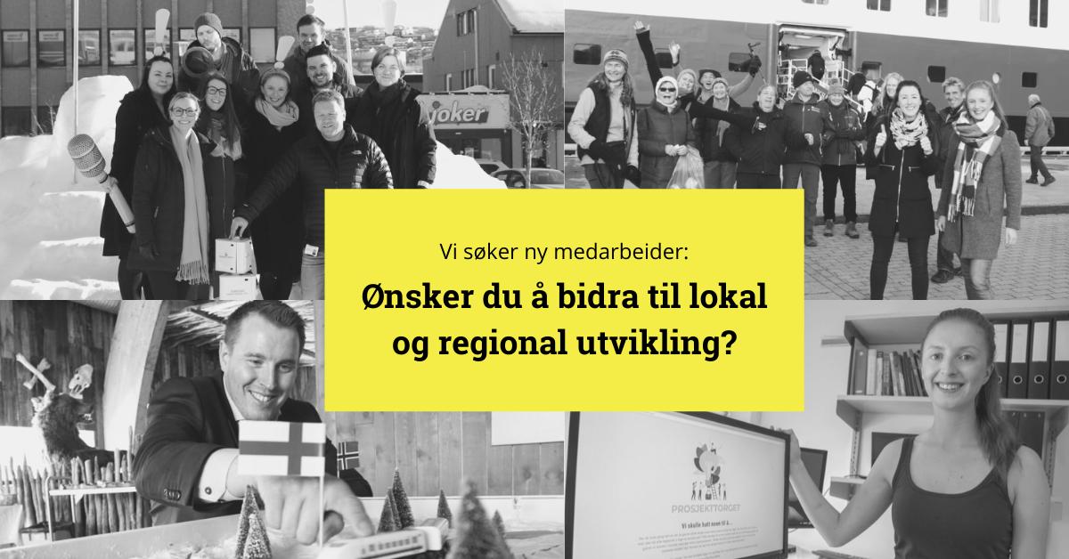 Ledig stilling: Ønsker du å bidra til lokal og regional utvikling?