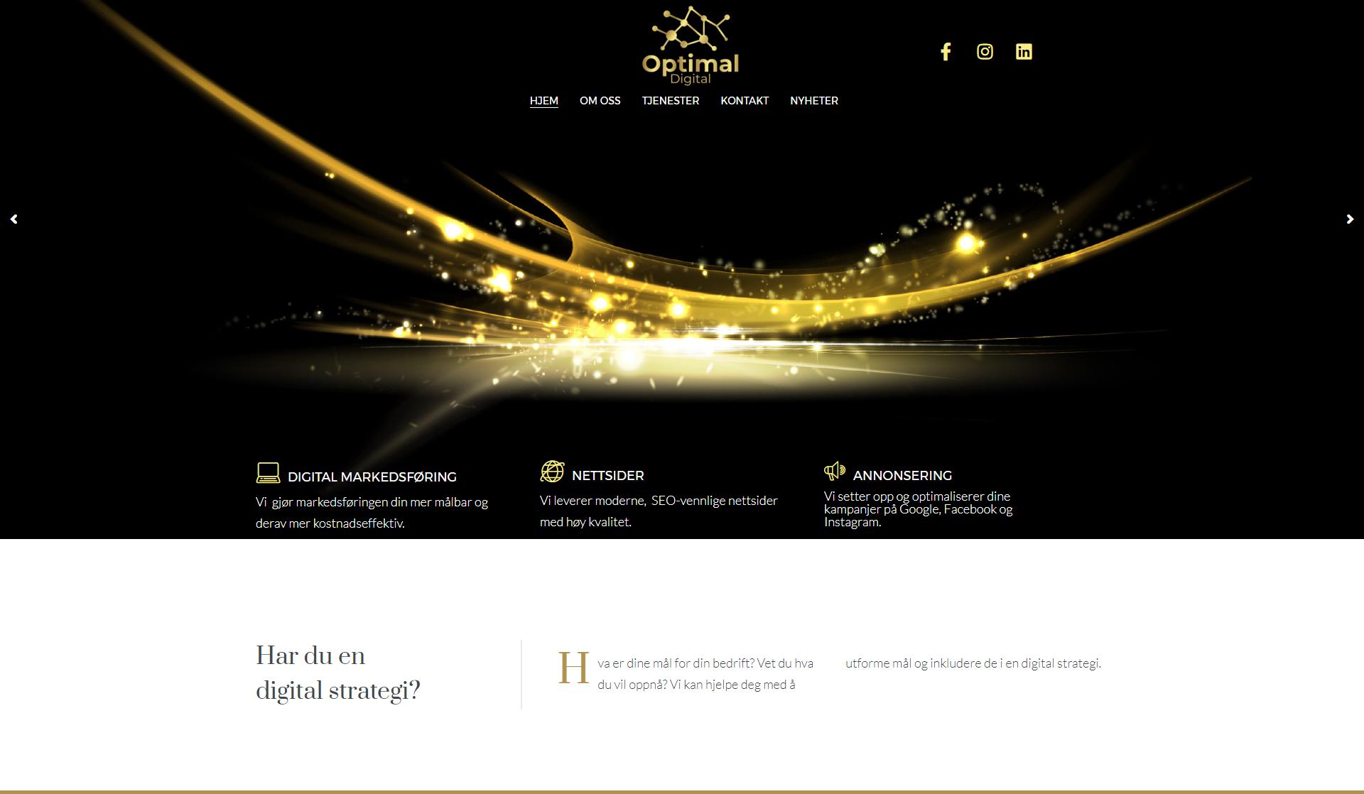 Oppstart av digital markedsføringsbyrå